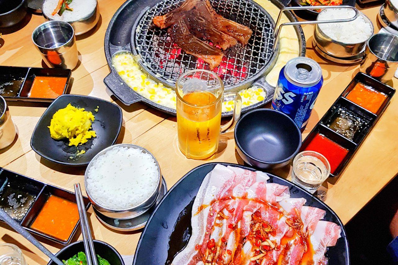 Korean BBQ in Shenzhen