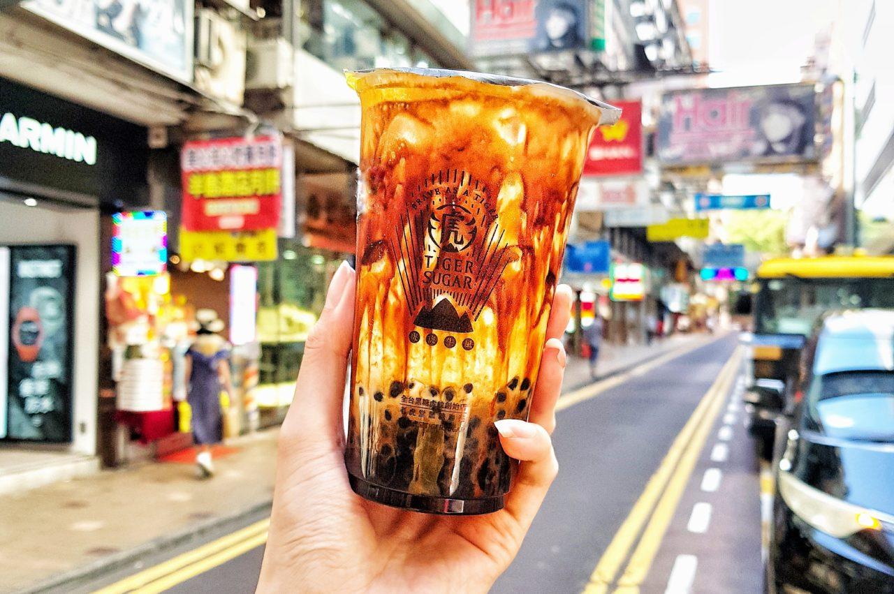 Iconic Brown Sugar Pearl Milk Tea from Tigersugar