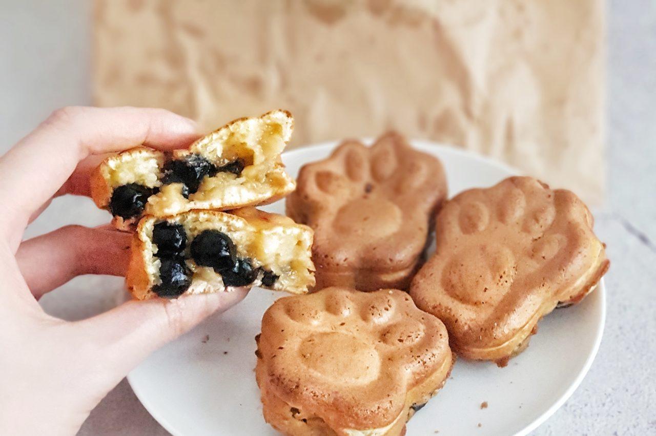 Tapioca Pearl filled Waffles and Bubble Tea from Dosha Teahouse