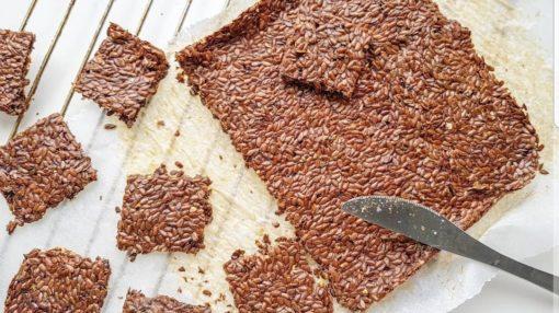 flaxseed cracker