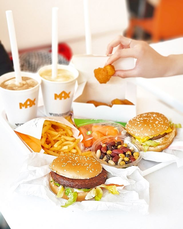 Fast Food from the Swedish Chain Max Burgers
