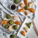 colorful dumplings