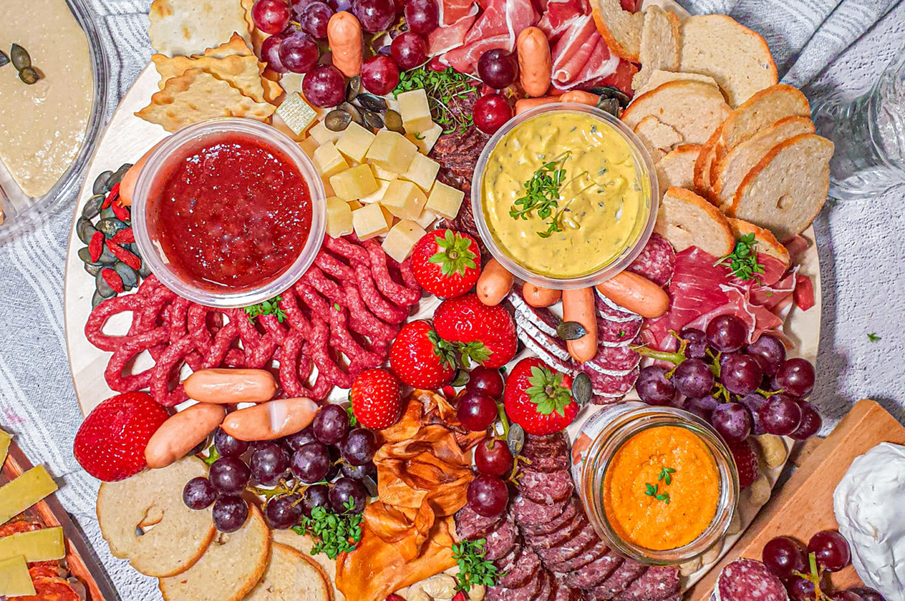 'Asian' Dinner Party Dish Ideas and Swiss Charcuterie Board Inspo
